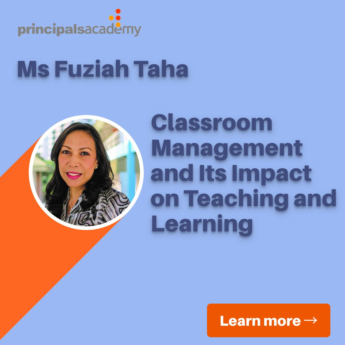 Ms Fuziah - classroom management
