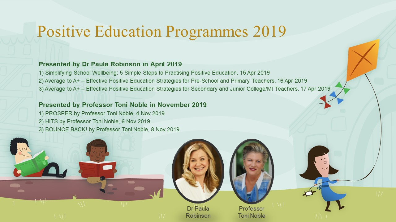 Positive Education Programmes 2019